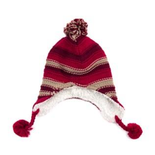 Dziecięca, kolorowa czapka-uszatka