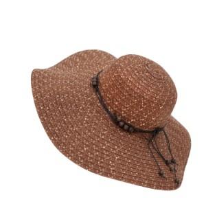 Letni kapelusz z cekinkami