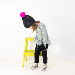 Czapka dziecięca Neonowa latarnia