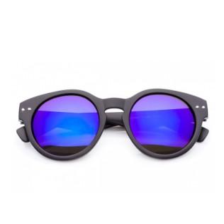 Okrągłe lustrzanki przeciwsłoneczne Blue