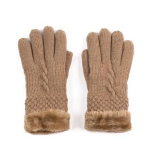 Rękawiczki Miś i Warkocz