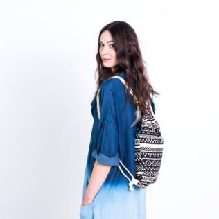 Kolorowy plecak-worek